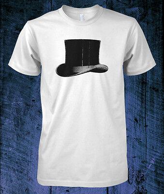 T-SHIRT TOP HAT tophat steampunk steam punk Victorian vintage retro Wilde  - Hat T Shirt