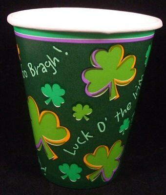 St. Patricks Day Party Cups (8) - Party Supplies