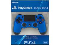 ps4 controller dualshock 4 blue