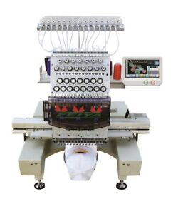 Embroidery machine 15 colors ( 1 head ) new