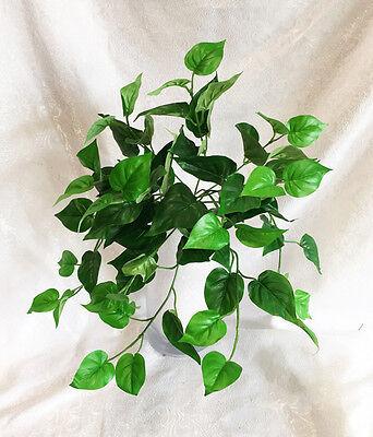 "17"" Philodendron Bush Greenery Philo Centerpieces Decoration Artificial Plants"