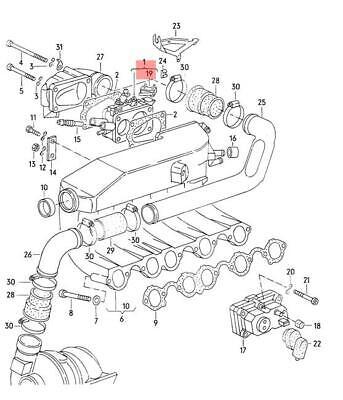 Genuine VW Switch NOS AUDI VW 200 4000 5000 Turbo 80 90 Avant 437906277