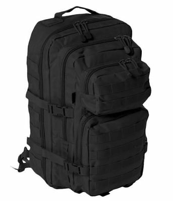 bb9bd64caa13e Mil-Tec Large 36L One Strap MOLLE ASSAULT PACK Backpack Survival Travel  Black