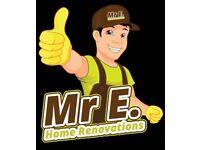 Builder | Driveways, Extensions, Roofer, Tiler, Painting & Decorating, Lofts, Kitchens & Bathrooms