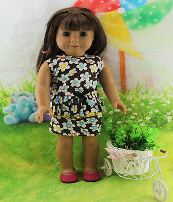 """Hot Doll Clothes for 18"""" American Girl Handmade Hot Summer Dress gown dolls b53 on Rummage"""