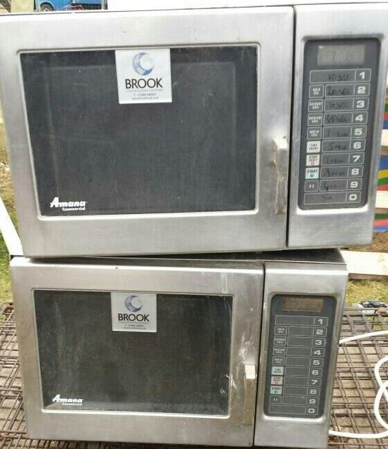 Amana commercial microwave oven