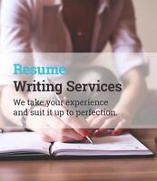 Professional Résumé and Cover Letter Writing Service