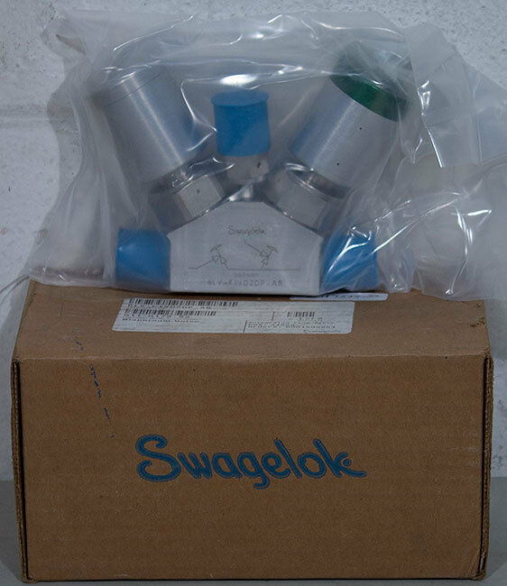 New Swagelok 6lv-f1vd2dp-ab Manifold Valve, Novellus Pn: 22-187575-00