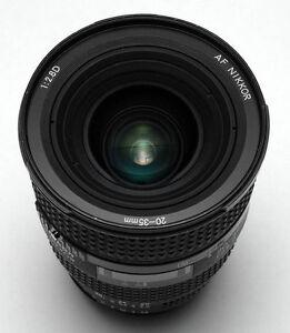 nikon AF 20 35 2.8 D ultra wide angle zoom lens