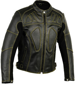 Skeleton-Leather-Motorbike-Motorcycle-Jacket-Racing-Protective-Biker-Jacket-CE