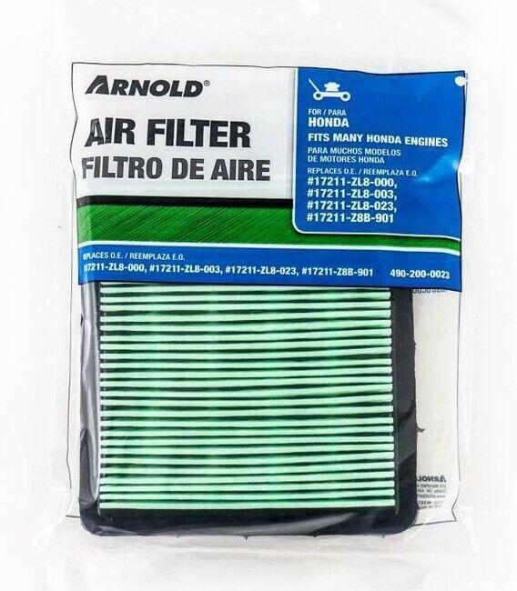 Air Filter for HONDA Mower repl 17211ZL8000 17211ZL8003 1721