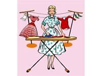 Steam ironing service