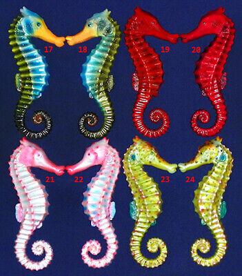 Tropical Fish Seahorse Pair Wall Plaque 6