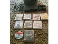 Ps3 in good condition with 9 games