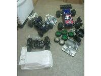 Rc nitro car joblot 1/8 scale hpi/hotbodies lightning/kyosho