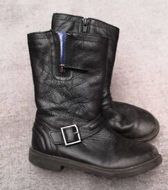 Girls Clarks size 12F boots