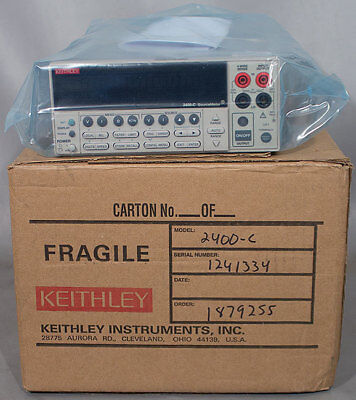 Refurbished Keithley 2400-c 20w Broad Purpose I-v Source Meter Sourcemeter Smu
