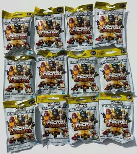 TRANSFORMERS KREO KRE-O MICRO CHANGER COMPLET SET OF 12 COLLECTION 4 SERIES WAVE