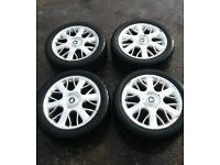 "Rover mg 17"" alloys with new tyers"