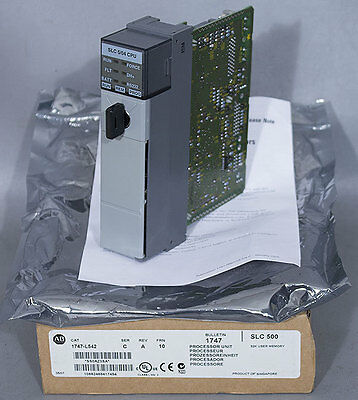 New Allen-bradley Ab 1747-l542 Slc 504 Cpu Modular Signal Processor Unit
