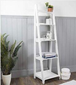 Nautical Wooden Ladder Bathroom Shelves   Dunelm   Brand New in Box