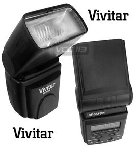 Vivitar Flash LCD VIV-DF-383-SON SONY ALPHA HVL-F58AM HVL-F42AM