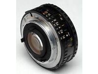 Nikon 50mm f1.8 MANUAL lens series E