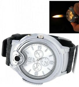 LIGHTER BRACELET WATCH (BLACK / SILVER) Yellowknife Northwest Territories image 7