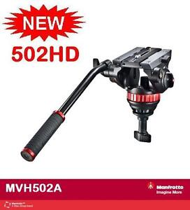Manfrotto MVH502A 502HD Pro Video Head with 75mm - M Size - Express shipping