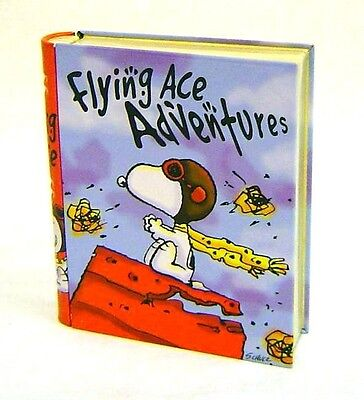 Snoopy Peanuts  WWI Flying Ace Fighter Pilot Tin  Book Stash (Flying Ace Pilot)