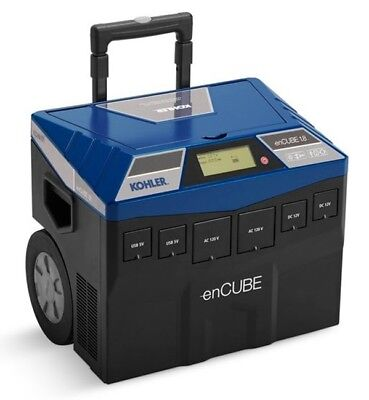 Kohler Solar Power Encube1.8 Generator 1.8kw Backup 120v 12v Usb Zero Emissions
