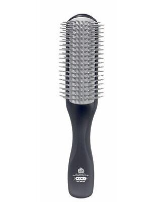 Kent 21cm Mens Half Radial Gel Styling Conditioning Thick Long Hair Brush KFM2