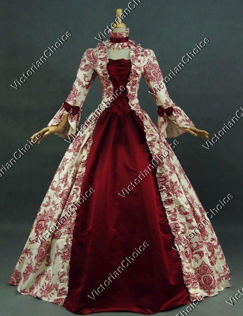 Renaissance Fair Princess Victorian Christmas Dress Party...