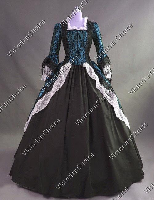 Renaissance Victorian Queen Winter Wonderland Holiday Dre...