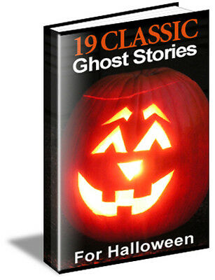 19 Great Classic Ghost Stories for Halloween - Classic Halloween Stories