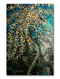 Metal-Art-Abstract-Floral-Artwork-Modern-Wall-Sculpture-by-Brittney-Hallowell
