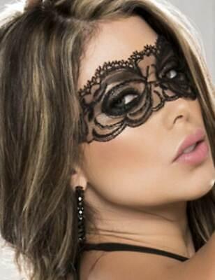 Maske Augen aus Spitze Schwarz oder Weiß Kostüm - Sexy Kostüme Billig