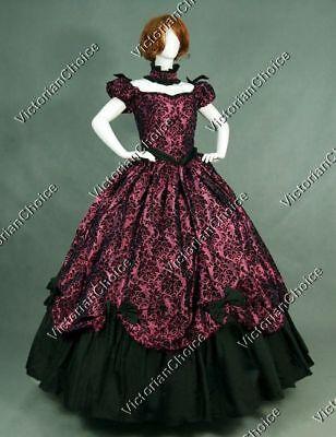Victorian Belle Princess Scarlett O'Hara Dress Women Halloween Costume N 323 XL - Belle Dress For Women