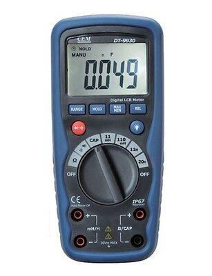 Cem Dt-9930 Pro 11000 Counts Lcr Digital Inductance Multimeter Tester