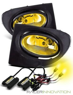 *3000K HID Kit* For 02-05 Civic Si EP3 JDM Yellow Fog Driving Lights w/ Switch