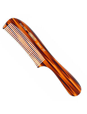 Kent 10T Large Hand Made Finest Thick Detangling Hair Styling Rake Comb 205mm