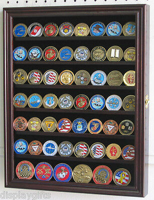 Poker Chip, Antique, Bullion, Coin Display Case W/ Glass ...