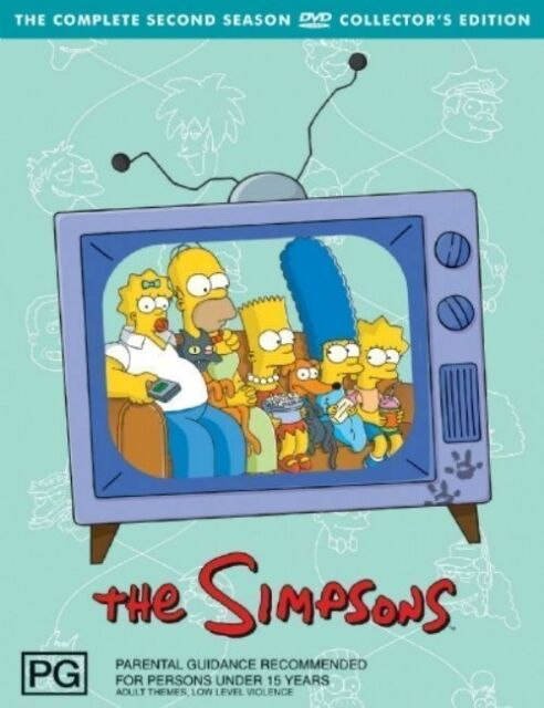 The SIMPSONS: The COMPLETE Season 2 DVD TV SERIES BRAND NEW 3-DISCS BOX SET R4