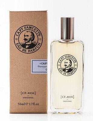 Captain Fawcett's Mens Original CF.8836 Eau De Parfum Aftershave 50ml EDP Bottle