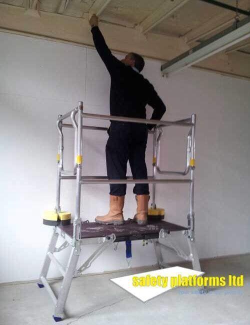 Deltadeck Low Level Work Platform Scaffold Tower Steps