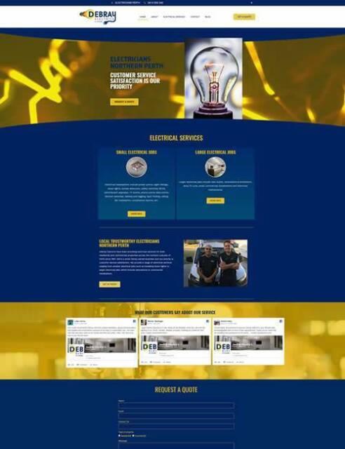 CUSTOM WORDPRESS WEB DESIGN | Graphic & Web Design