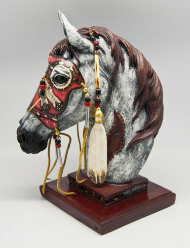 "13""  Spirit Horse - Eagle Spirit - Statue"