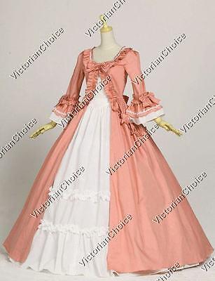 Gothic Vintage Pink Renaissance Faire Dress Reenactment Theater Gown 257 XXXL