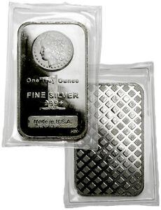 Morgan Dollar Design 1 Troy Oz .999 Fine Silver Bar SKU29387