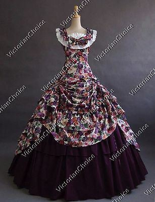 Civil War Southern Belle Princess Ball Gown Fairytale Scarlett O'Hara Dress 081](Southern Belle Dress)